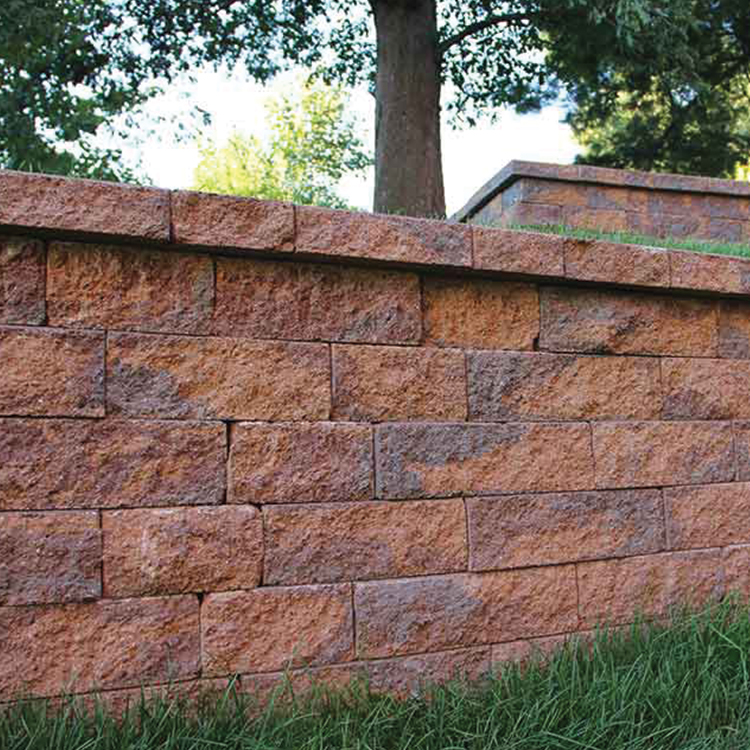 """5"""" Colonial Wall shown in Oyster Blend."""