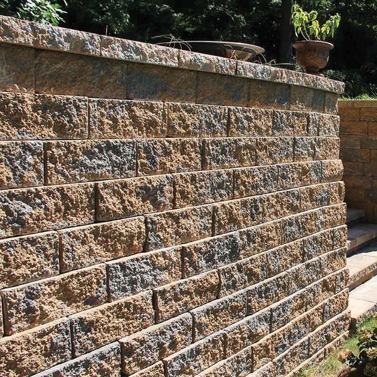 Firma Retaining Wall shown in Adobe Blend.