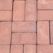 10 Rose Red Modular Paver