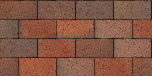 103FL Red Flashed Paver