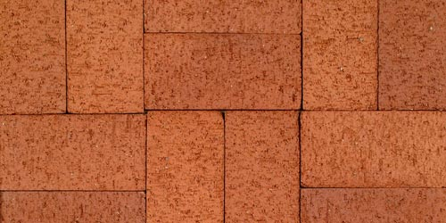 Red 2-1 Pavers