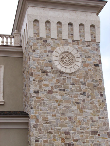 Finished gallery of quarrycut kings building material - Building river stone walls with mortar sobriety and elegance ...