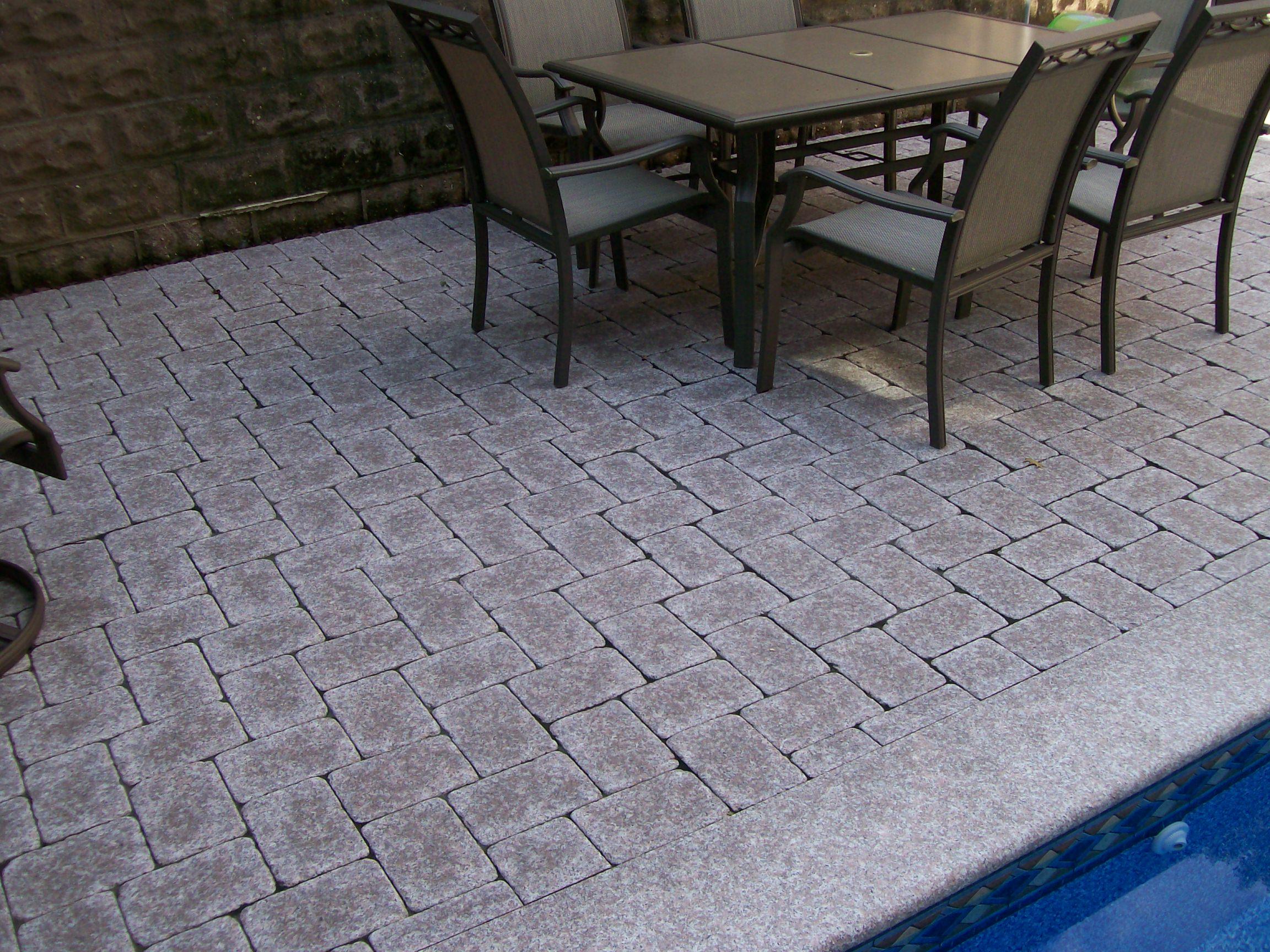 Pavers By Stone Pavers Kings Building Material - Granite patio pavers