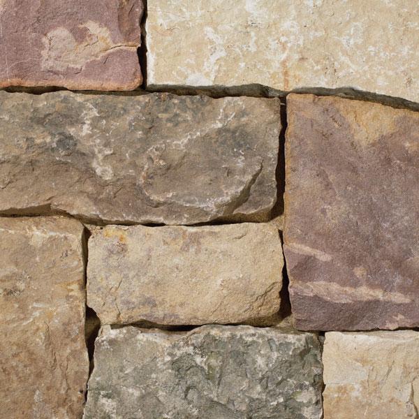 40% Dark 40% Brown 30% Plum Squares & Strips