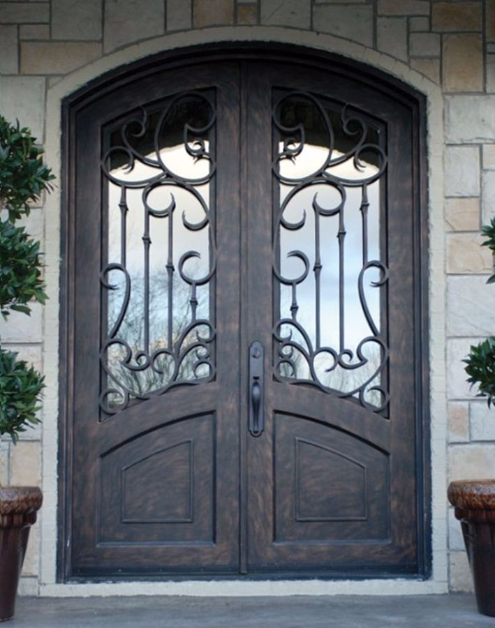 & Wrought Iron Doors | Kings Building Material