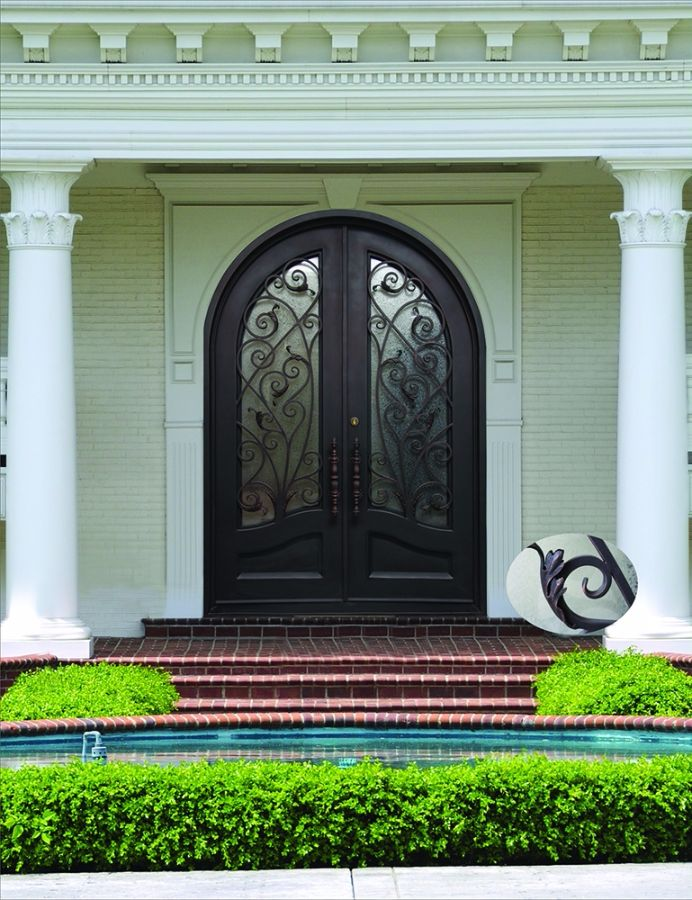 Quality Wrought Iron Doors at an Affordable Price & Wrought Iron Doors | Kings Building Material
