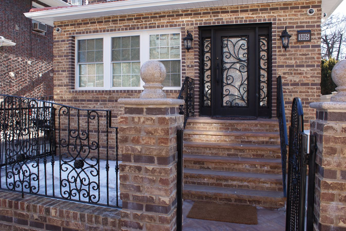 Ordinaire SH 02 Wrought Iron Door With Sidelights