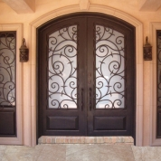 SH 444 Wrought Iron Door & SH 11 Wrought Iron Door | Kings Building Material Pezcame.Com
