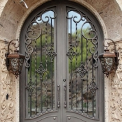 SH 44 Wrought Iron Door