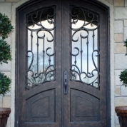 SH 54 Wrought Iron Door