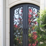 SH 27 Wrought Iron Door