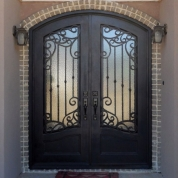 SH 53 Wrought Iron Door
