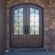 SH 43 Wrought Iron Door
