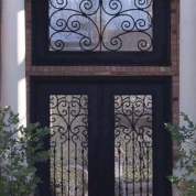 SH 55 Wrought Iron Door