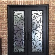 SH 01 Wrought Iron Door