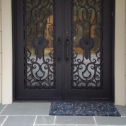 SH 14 Wrought Iron Door