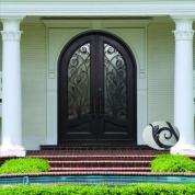 SH 11 Wrought Iron Door