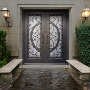 SH 41 Wrought Iron Door