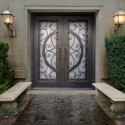 SH 41 Wrought Iron Door