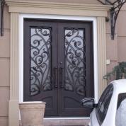 SH 10 Wrought Iron Door