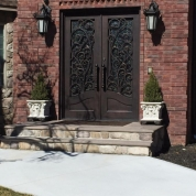 SH 10 Wrought Iron Door
