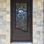 SH 12 Wrought Iron Door