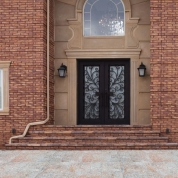 SH 25 Wrought Iron Door