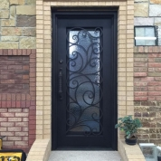 SH 02 Wrought Iron Door