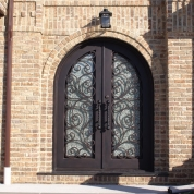 SH 11 Wrought Iron Door