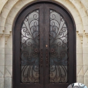 SH 22 Wrought Iron Door