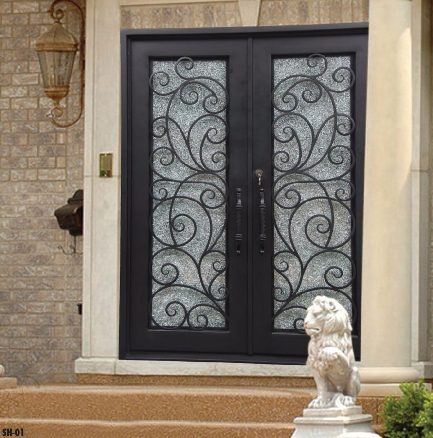 & Wrought Iron Doors | Kings Building Material Pezcame.Com