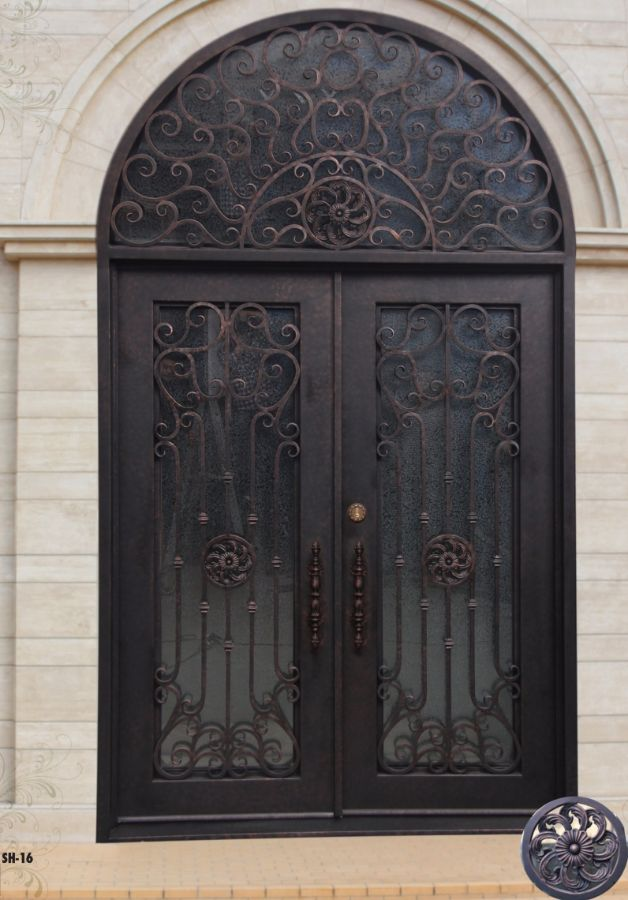 SH 16 Wrought Iron Door