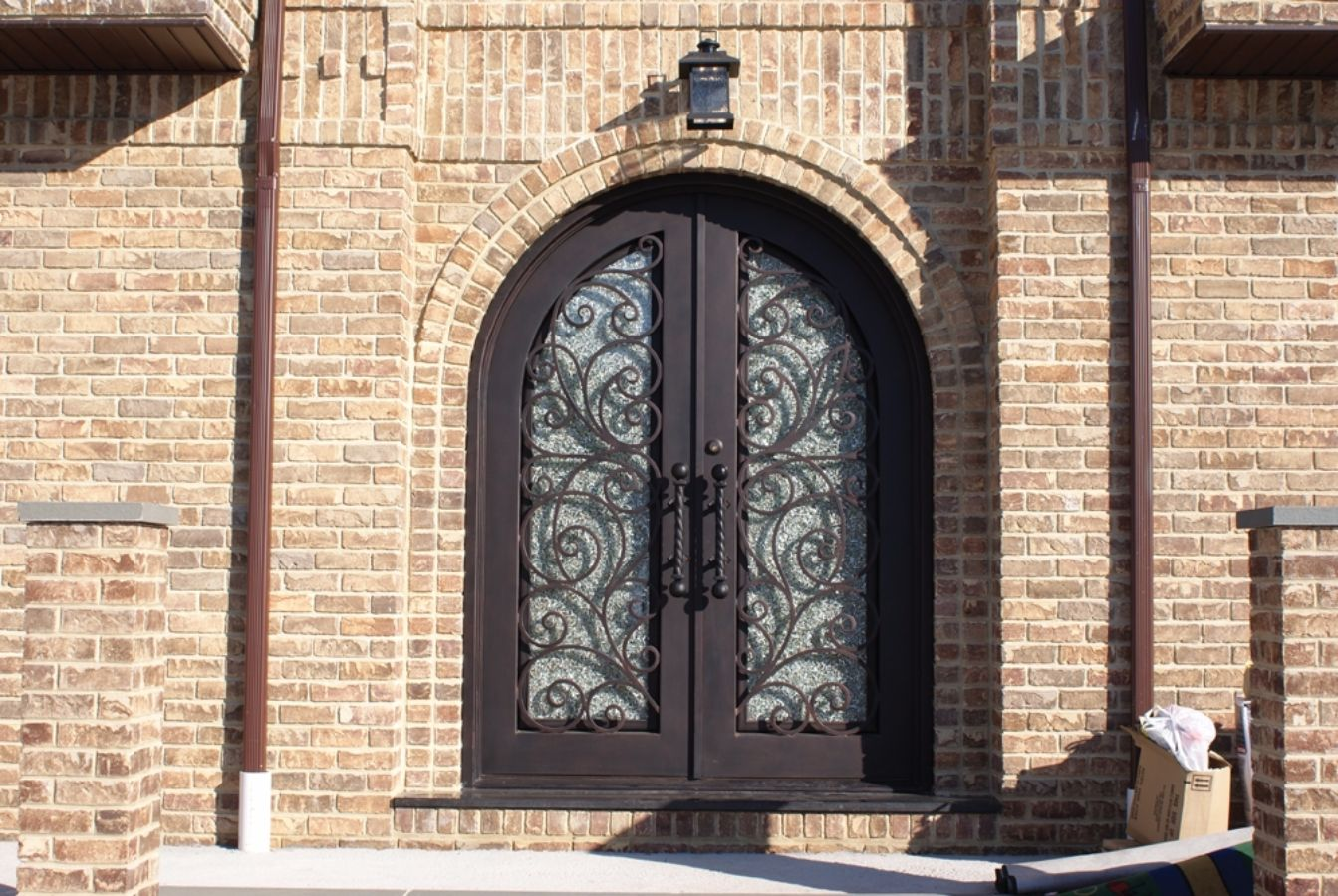 Wrought iron doors kings building material rubansaba