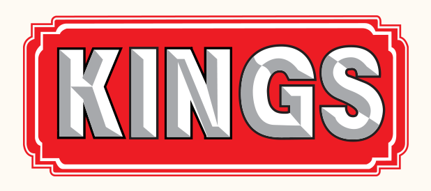KINGS building material logo