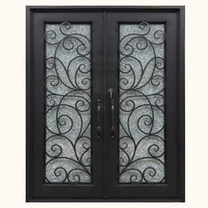 StoneHenge Wrought Iron Steel Entry Doors & Wrought Iron Steel Entry Doors | Kings Building Material