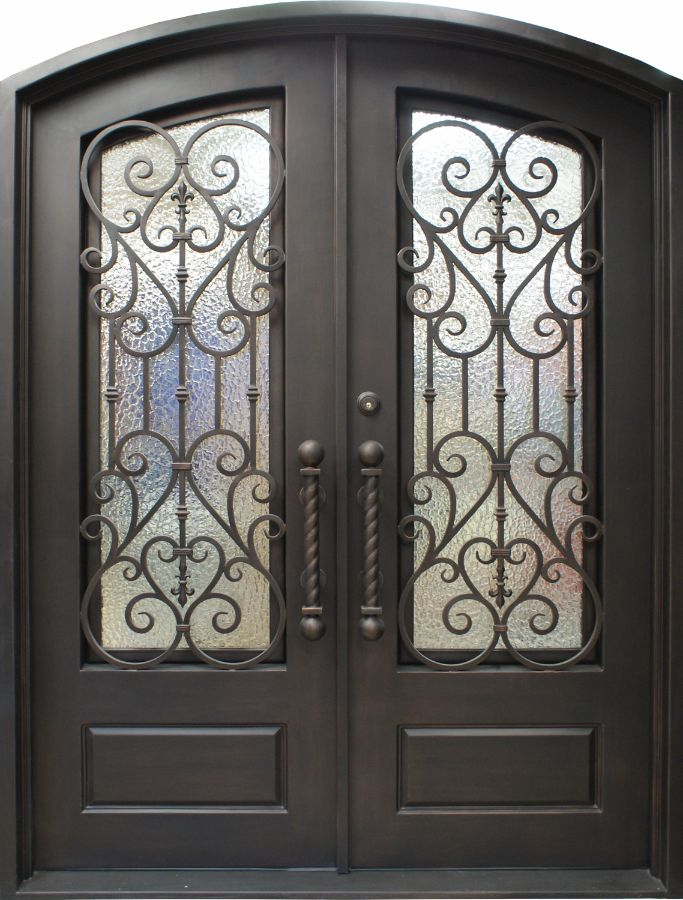 SH-05-wrought-iron-door & SH 05 Wrought Iron Door | Kings Building Material Pezcame.Com