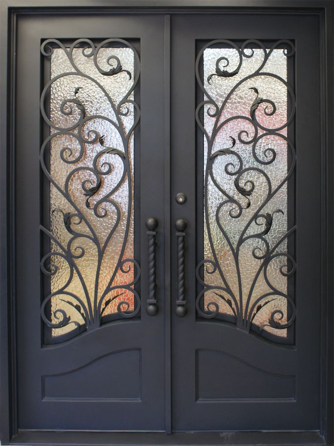 SH-10-wrought-iron-door & SH 10 Wrought Iron Door | Kings Building Material Pezcame.Com