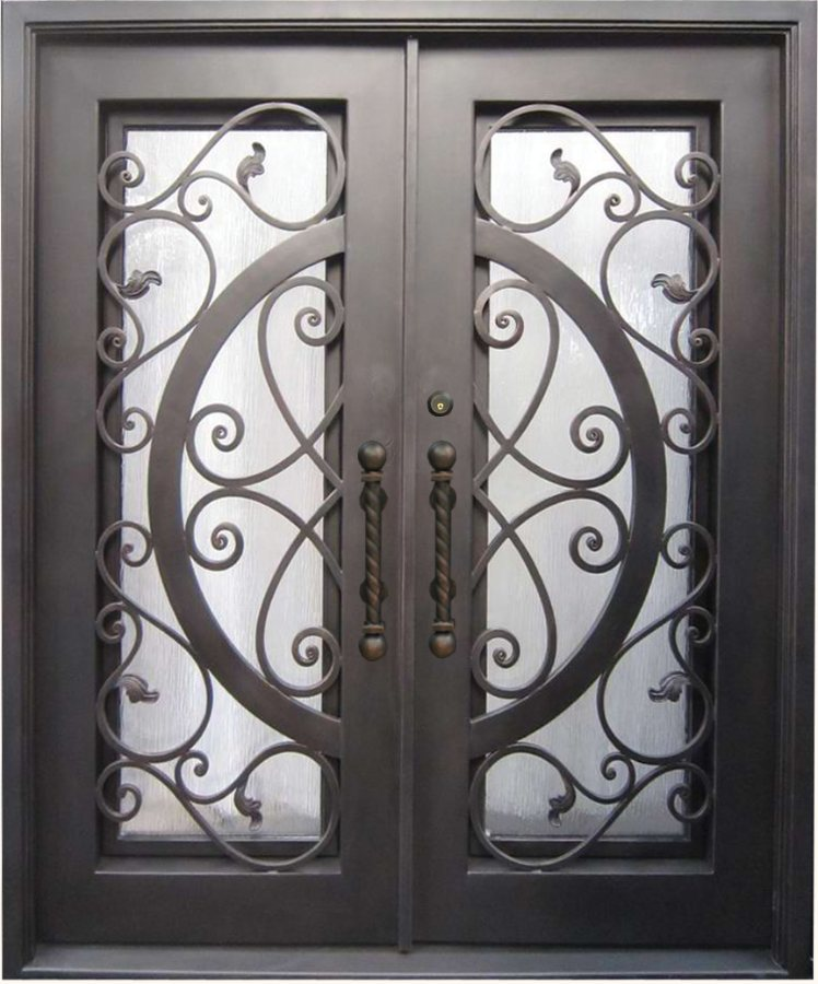 Door Gallery & SH 41 Wrought Iron Door | Kings Building Material Pezcame.Com