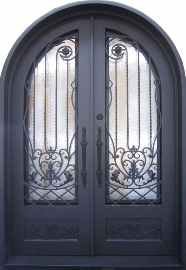 SH-42-wrought-iron-door & SH 42 Wrought Iron Door | Kings Building Material Pezcame.Com
