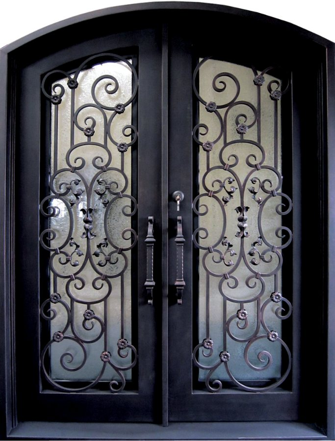 glass designs with main door safety arches iron wrought modern latest product doors