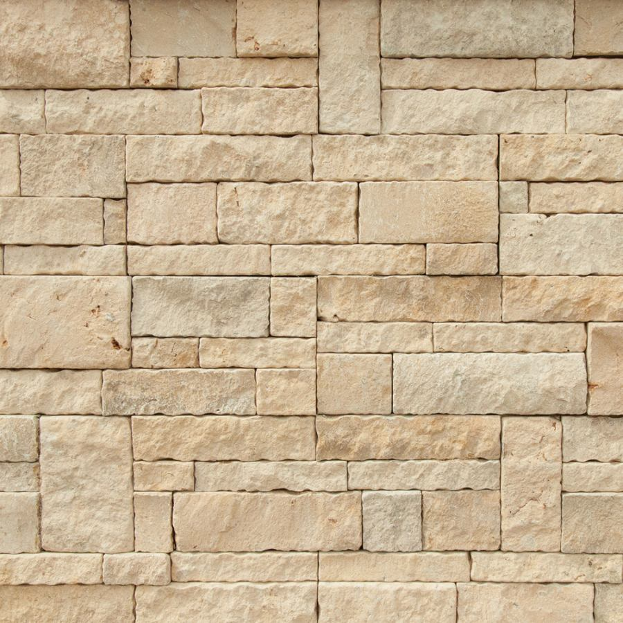 butter cream large natural stone