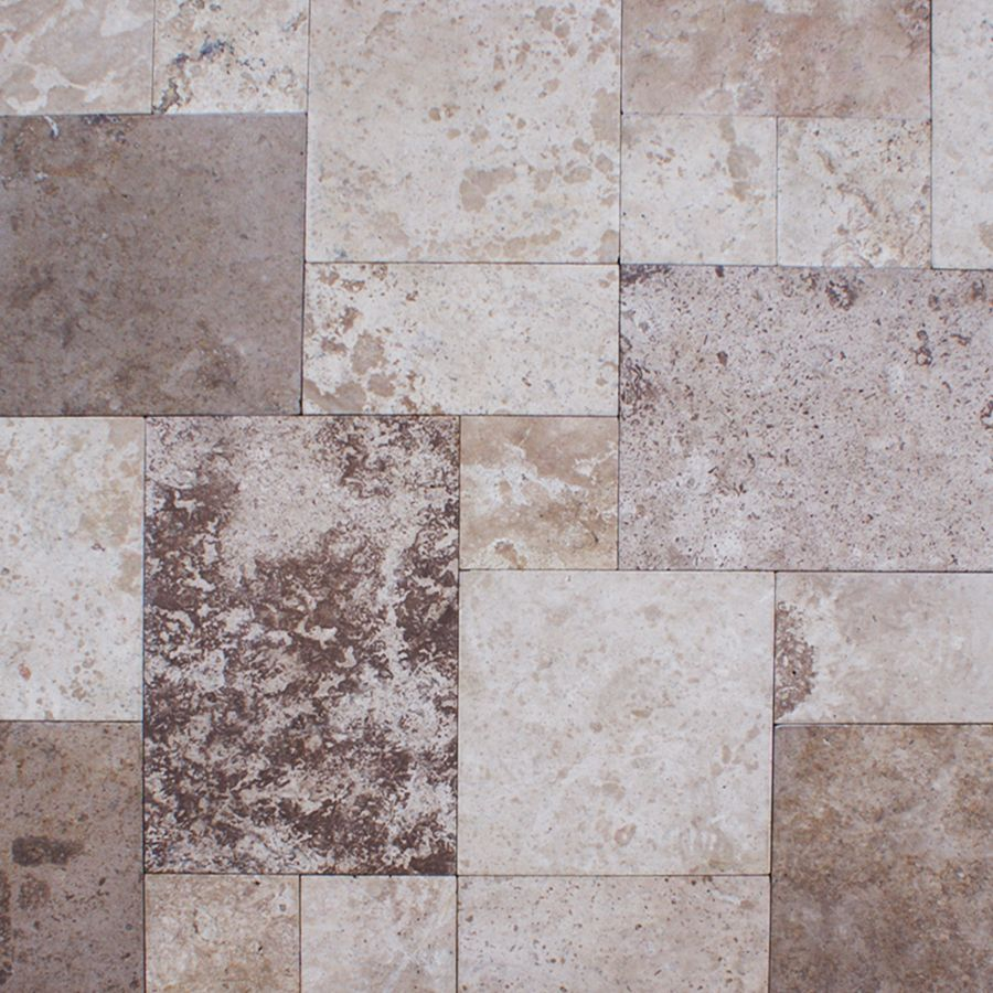 coffee travertine pavers french