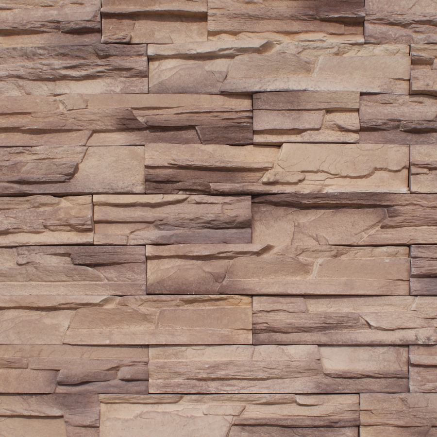 manufactured stone multiledge mocha