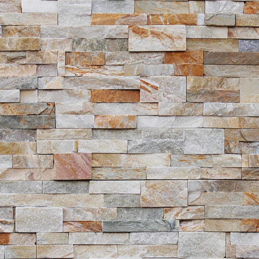 natural ledgestone golden honey
