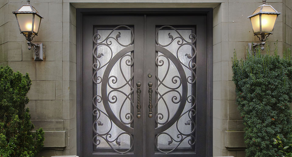 wrought-iron-doors-home