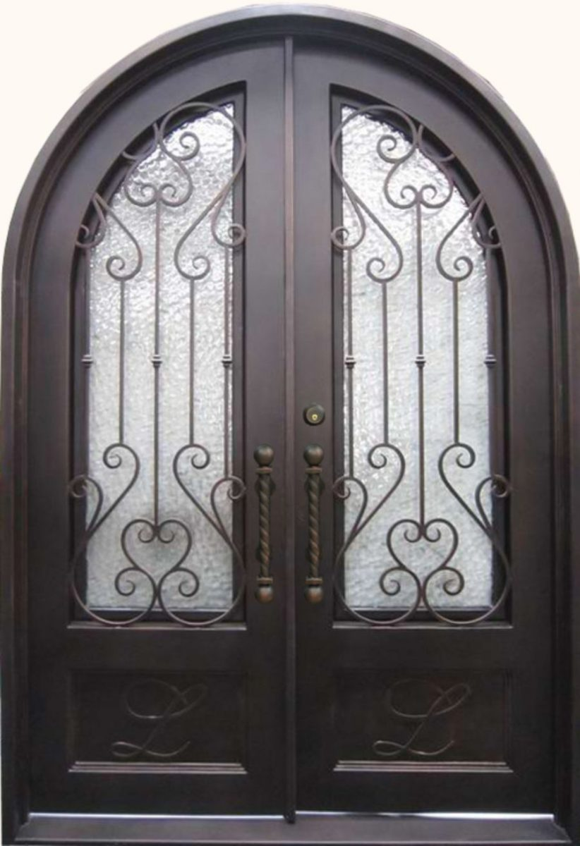Wrought iron doors kings building material sh 07 rubansaba