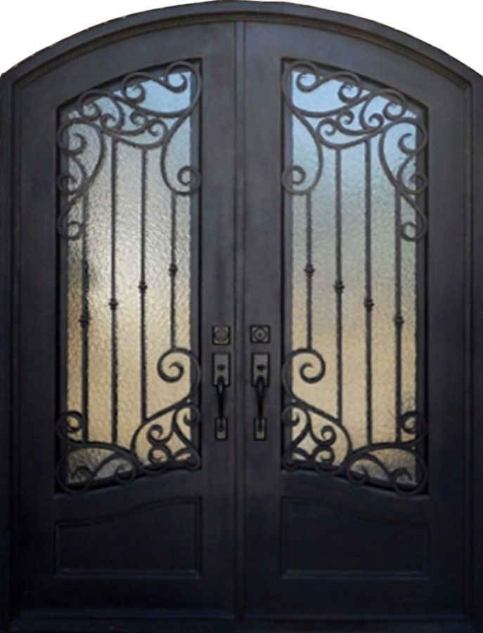 SH-53-wrought-iron-door & SH 53 Wrought Iron Door | Kings Building Material Pezcame.Com