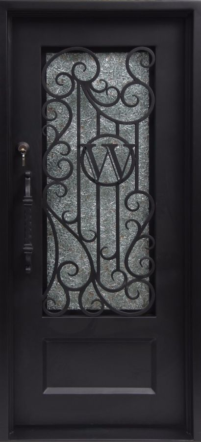 SY-31A-wrought-iron-door