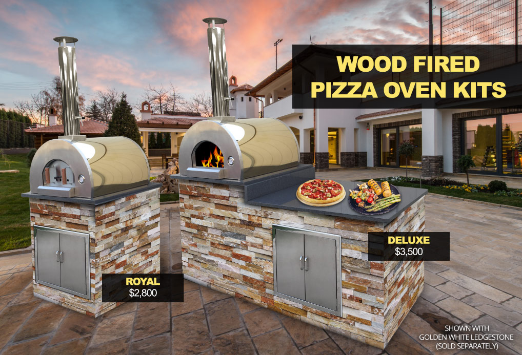 stonehenge wood fired pizza oven