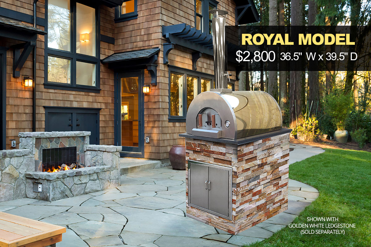 Royal Pizza Oven Kit